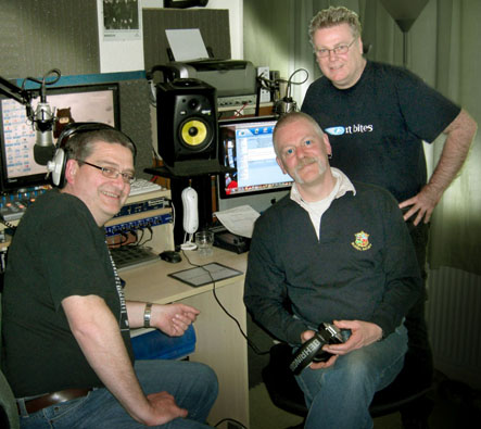 Paul Nick and Ralph at the ARfm studio
